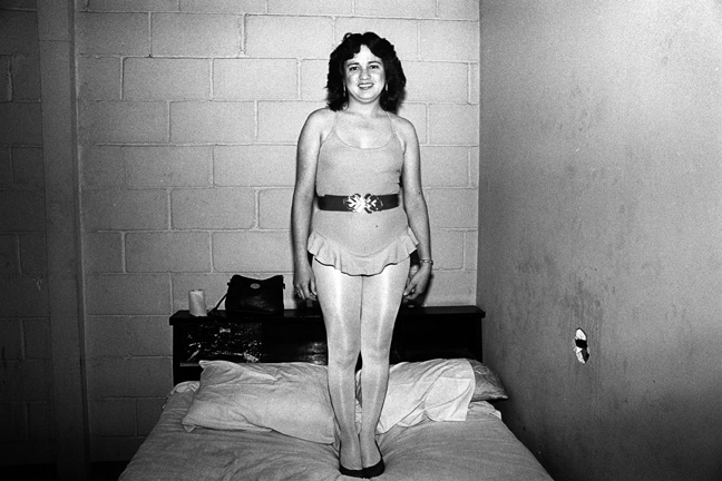 TJ Ruffle Girl, LOWLIFE Series, Silver Gelatin Photograph, 11 x 14 inches, Edition 1/25, Printed in 2012, $600