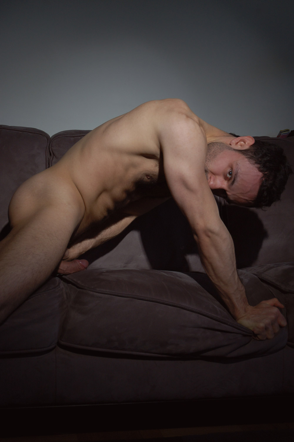 Brian on a couch, 2010, digital c-print on Fuji Crystal Archive, 12x18 inches, open edition, $300